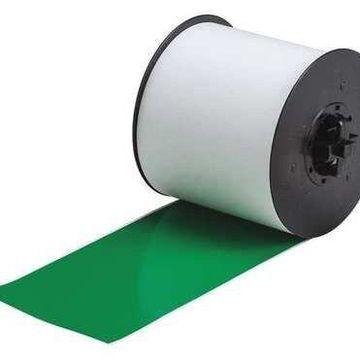 BRADY 120864 Label Tape Cartridge,Green,100ft L,4In W