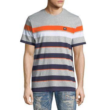 Men's Multicolor Striped T-Shirt