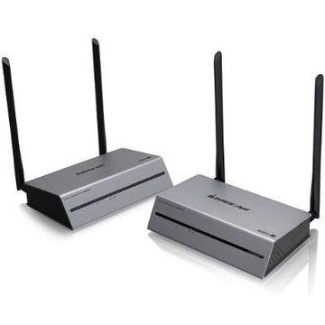 IOGEAR GWLR4K60KIT Ultra Long-Range Wireless 4K @ 60Hz Video Extender Kit