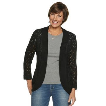 Women's Napa Valley Open Stitch Shrug