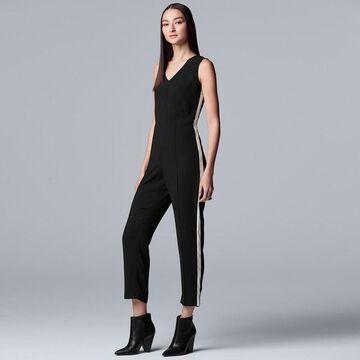 Women's Simply Vera Vera Wang V-neck Jumpsuit