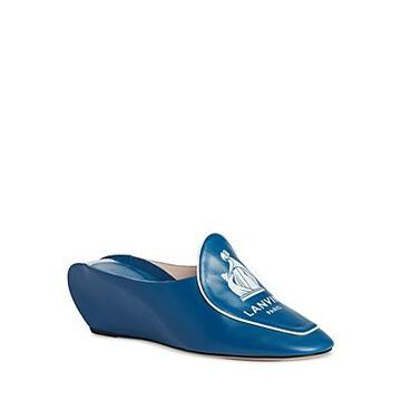 Lanvin Women's Wedge Banana Mules