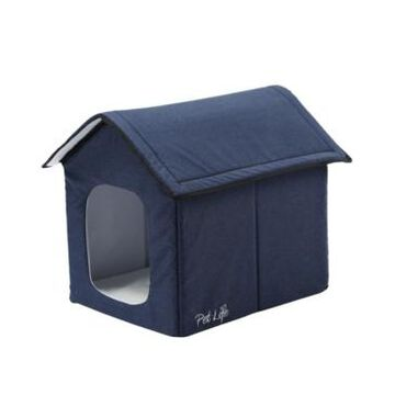 """Pet Life """"Hush Puppy"""" Electronic Heating and Cooling Smart Collapsible Pet House"""