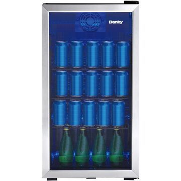Danby Stainless Steel 117 Cans Beverage Center