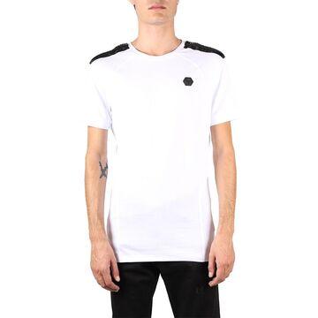 Philipp Plein White Institutional Cotton T-shirt