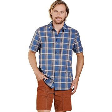 Toad & Co Men's Airscape SS Shirt - Medium - High Tide
