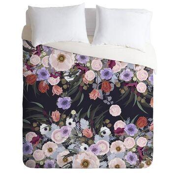 Iveta Abolina Floral Comforter Set - Deny Designs