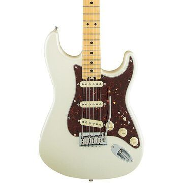 Fender American Elite Stratocaster Maple Fingerboard Electric Guitar Olympic Pearl
