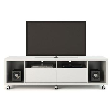 Manhattan Comfort Cabrini Tv Stand 1.8, White Gloss