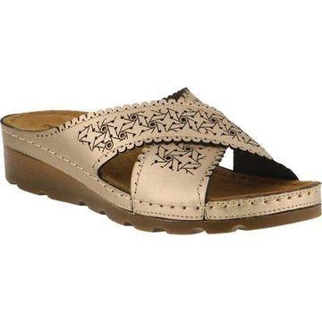Flexus by Spring Step Women's Passat Slide Sandal Pewter