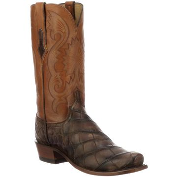 Lucchese Rio Alligator Leather Boots