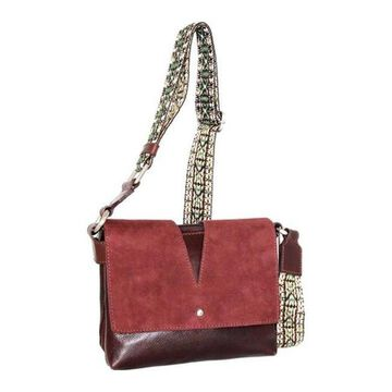 Nino Bossi Women's Sumana Rocks Crossbody Bag Walnut - US Women's One Size (Size None)