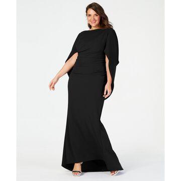 Plus Size Capelet Gown