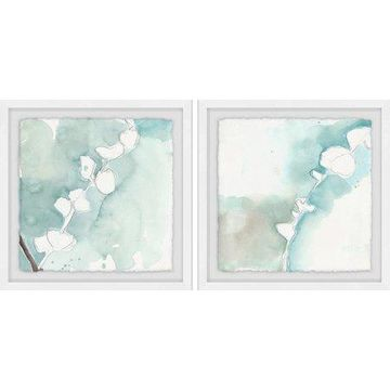 Marmont Hill Pastel Blooms Diptych