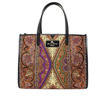 Etro Shopping Bag In Jacquard Fabric