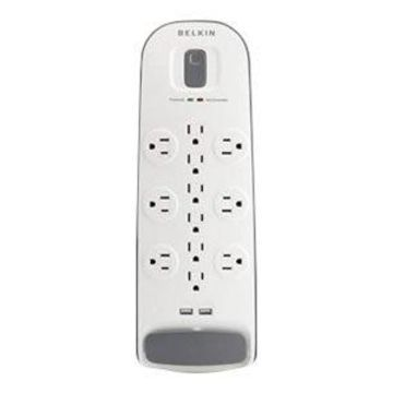 Belkin 12 Outlet Surge Protector with USB Charging - Surge protector - output connectors: 12 - 6 ft