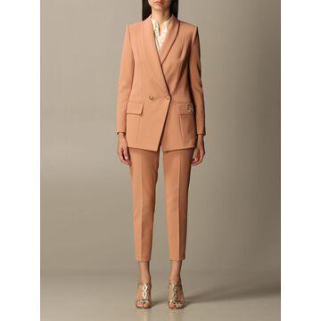 Elisabetta Franchi Slim Fit Jacket + Trousers Set
