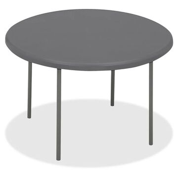 Iceberg IndestrucTable TOO Folding Table - Charcoal (Or Charcoal Gray)
