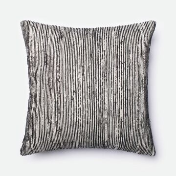 DSETP0242BLMLPIL3 22 x 22 in. Decorative Down Filled Pillow with Cover, Black & Multicolor