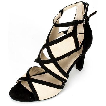 Rialto Shoes 'RIA' Women's Heel, Black, Size 8.5