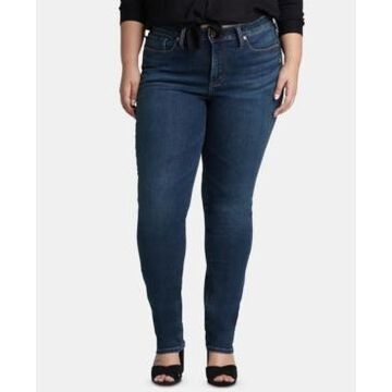 Silver Jeans Co. Trendy Plus Size Avery Straight-Leg Jeans