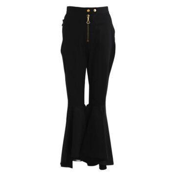 Ellery Black Cotton Trousers