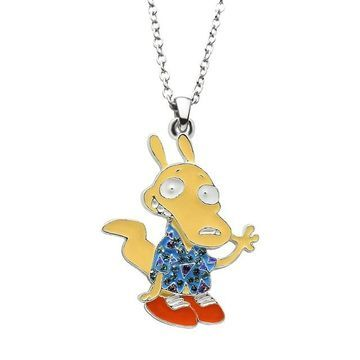 Nickelodeon Rocko Pendant Necklace