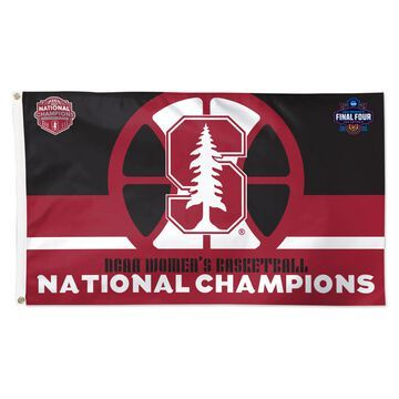 WinCraft Stanford Cardinal 2021 NCAA Women's Basketball National Champions 3' x 5' One-Sided Deluxe Flag