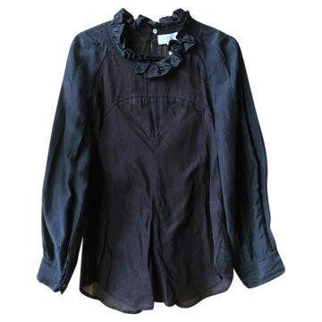 Isabel Marant Etoile \N Black Cotton Tops
