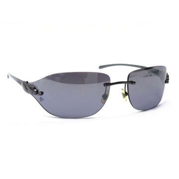 Cartier Black Metal Sunglasses