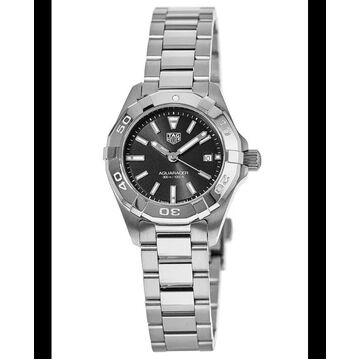 Tag Heuer Aquaracer Lady 300M 27MM Black Dial Women's Watch WBD1410.BA0741 WBD1410.BA0741