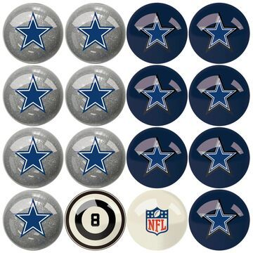 Imperial Dallas Cowboys Billiard Ball Set with Numbers