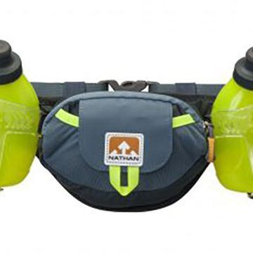 Nathan Trail Mix Plus Hydration Belt - Color: Black/Safety Yellow - Size: One Size