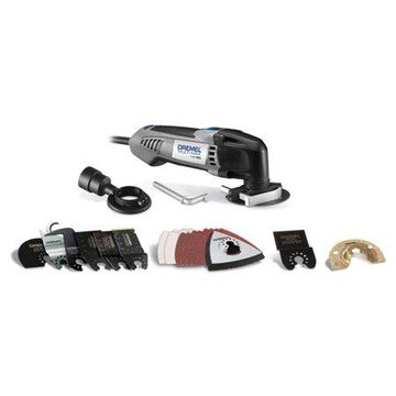 Dremel MM20-05 Multi-Max 2.3 Amp Corded Variable Speed Oscillating Multi-Tool Kit with 30 Accessories