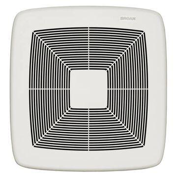 Broan Ultra Pro Series 0.6-Sone 110-CFM White Polymeric Bathroom Fan ENERGY STAR   RB110