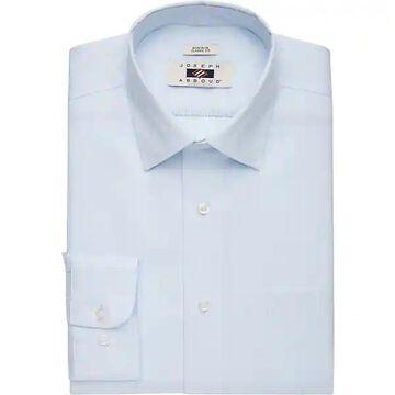 Joseph Abboud Men's Blue Stripe Classic Fit Dress Shirt - Size: 18 34/35