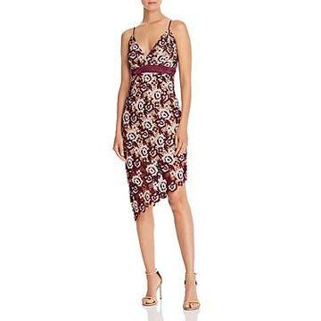 Bardot Dalia Asymmetric Lace Dress