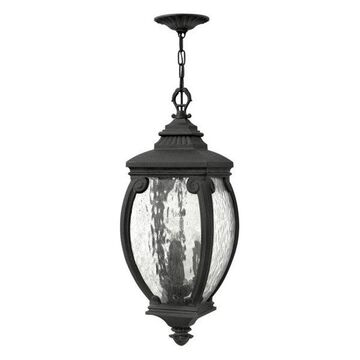 Hinkley Lighting 1942MB Forum 3-Light Outdoor Lantern Pendant