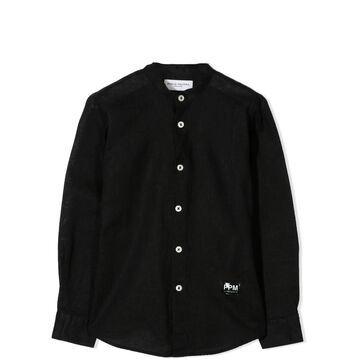 Paolo Pecora Korean Collar Shirt