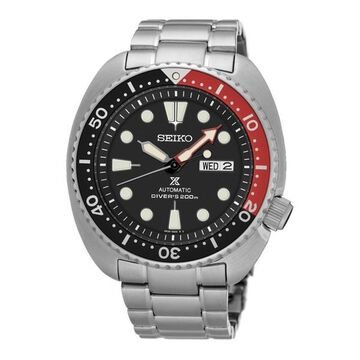 Seiko Men's SRP789 Prospex Turtle Stainless Steel Watch