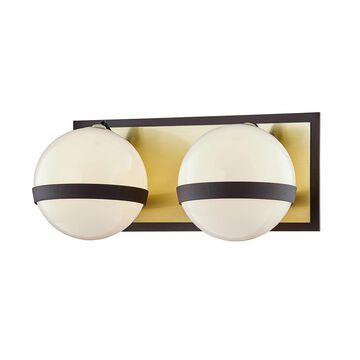 Troy Lighting Ace 12 Inch 2 Light Bath Vanity Light Ace - B7472 - Modern Contemporary