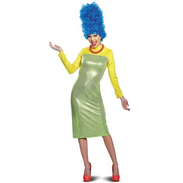 Disguise 2018 Marge Deluxe Adult Costume-Medium (8-10)