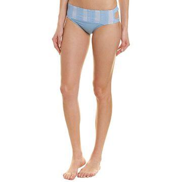 Ella Moss Womens Heart A Flutter Bikini Bottom