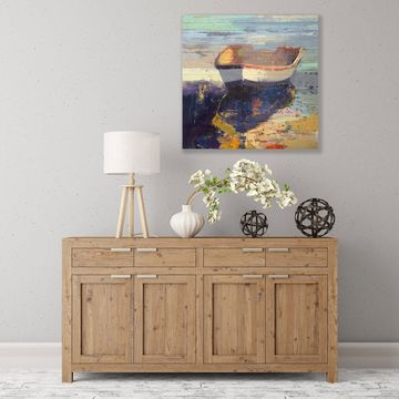 ArtWall Blueglow Wood Pallet Art