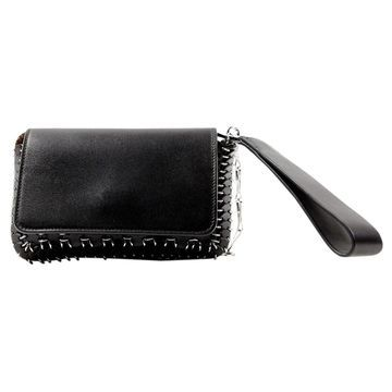 Paco Rabanne Black Leather Clutch bags
