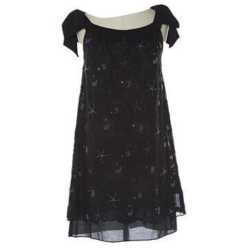 Manoush Black Cotton Dresses