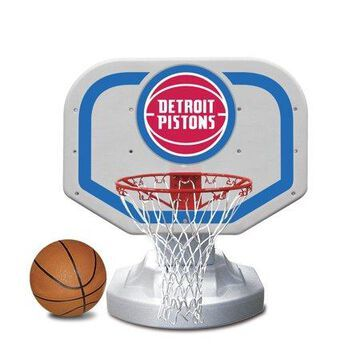 Poolmaster Detroit Pistons NBA USA Competition-Style Poolside Basketball Game