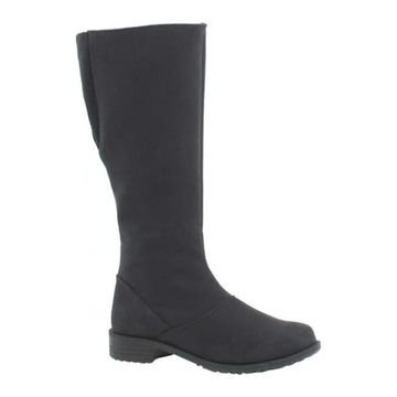Toe Warmers Women's Runa Arctic Grip Tall Boot Black Textile