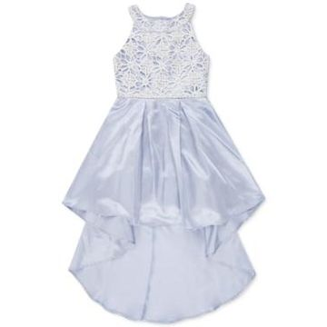 Speechless Big Girls Embroidered High-Low Dress