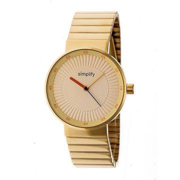 Simplify The 4600 Unisex Quartz Watch